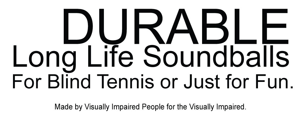 Buzzballs for Blind Tennis